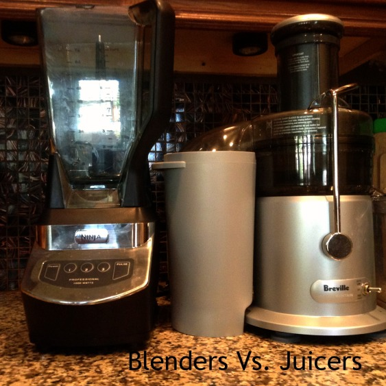 Blenders Vs. Juicers